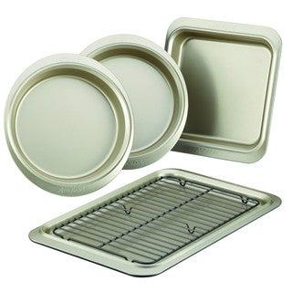 Anolon Pewter/Onyx Nonstick Bakeware 5-piece Bakeware Set