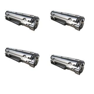 Compatible Canon 137/ 9435B001/ MF212w/ MF216n/ MF227dw Black Toner Cartridges (Pack of 4)