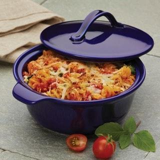 Anolon Vesta Stoneware 18-ounce Round Casserole Dish