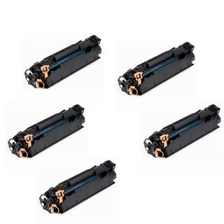 Canon 125 (3484B001AA) Toner Cartridge For Canon ImageCLASS LBP6000 LBP6300d (Pack of 5)