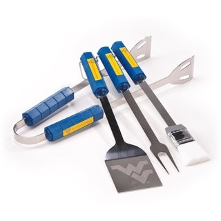 West Virginia 4-piece BBQ Set