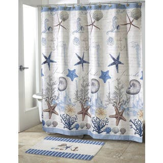 Coastal Shower Curtains For Less
