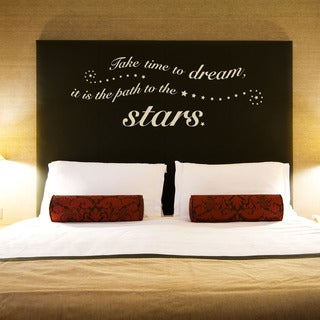 Time to Dream Quote Phrases Wall Decal