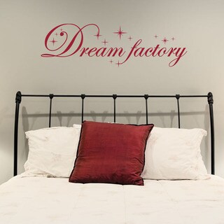 Dream Factory Quote Phrases Wall Decal