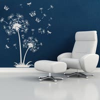 Dandelion de Luxe Floral Wall Decal