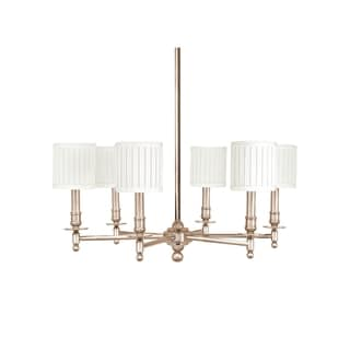 Hudson Valley Palmer 6-light Chandelier, Satin Nickel
