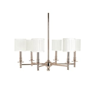 Hudson Valley Palmer 6-light Chandelier, Polished Nickel