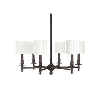 Hudson Valley Palmer 6-light Chandelier, Old Bronze