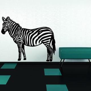 Zebra Animal Vinyl Wall Art