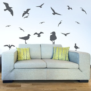 Gulls Set Animal Vinyl Wall Art