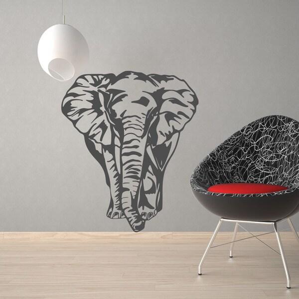 Big Elephant Animal Vinyl Wall Art