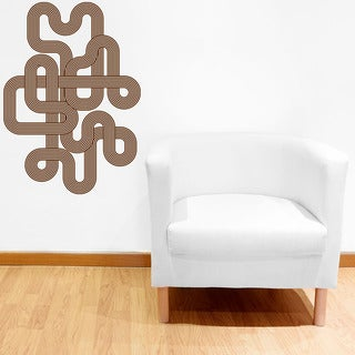 Endless Retro Modern Vinyl Wall Art