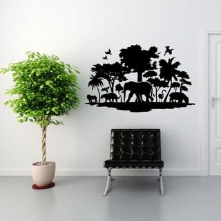 Jungle Exotic Vinyl Wall Art