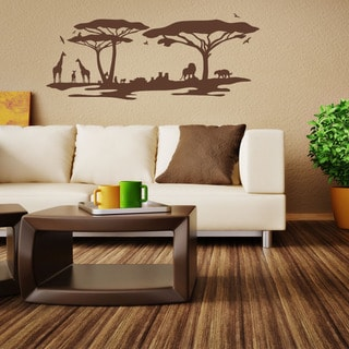 African Savannah Vinyl Wall Art