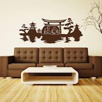Buddha Panorama Vinyl Wall Art