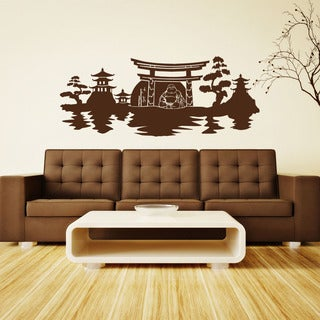 Buddha Panorama Vinyl Wall Art
