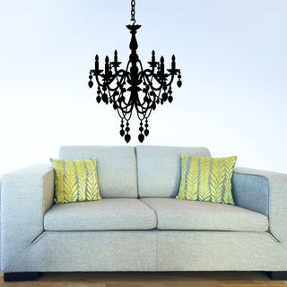 Chandelier Deco Vinyl Wall Art