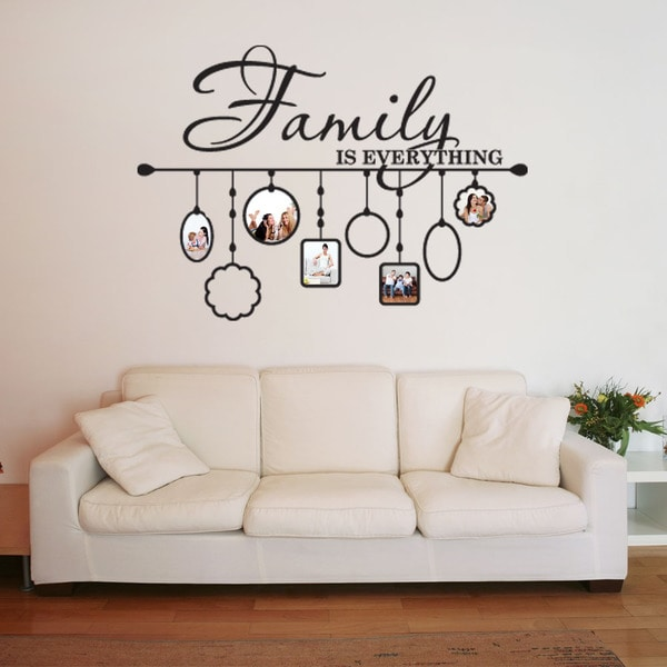Shop Family Picture Frame Deco Vinyl Wall Art On Sale