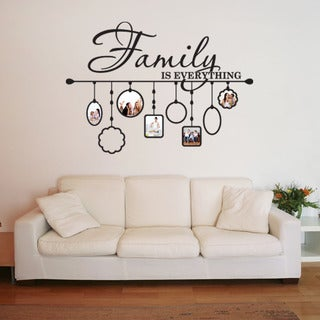 Family Picture Frame Deco Vinyl Wall Art