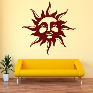 Sun Exotic Vinyl Wall Art