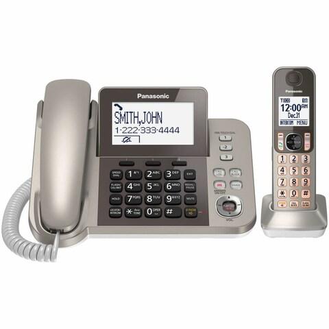 Panasonic KX-TGF350N Corded Phone and Answering Machine with 1 Cordless Handset