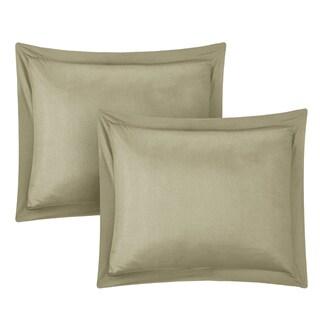 Porch & Den Rhode Island Taupe Down Alternative 7-piece Comforter Set