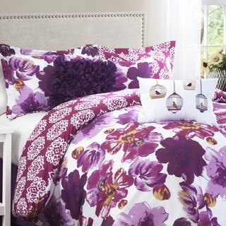 Lush Decor Leah 7-Piece Comforter Set