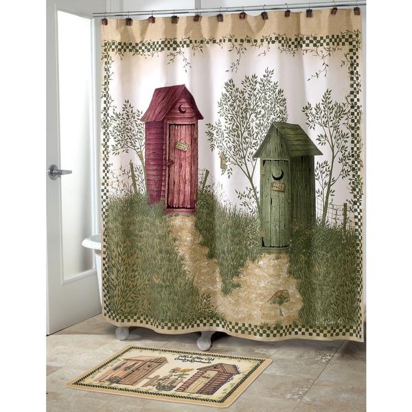 Avanti Outhouses Shower Curtain