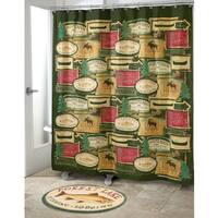 Rather Be Fishing Shower Curtain
