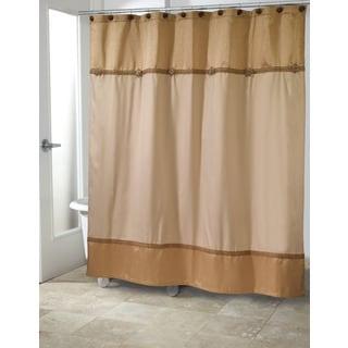 Braided Medallion Shower Curtain