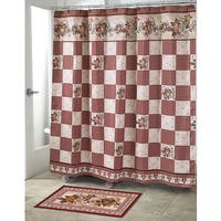 Hearts & Stars Shower Curtain