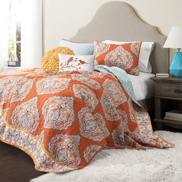 Lush Decor Harley 5 Piece Quilt Set Free Shipping Today