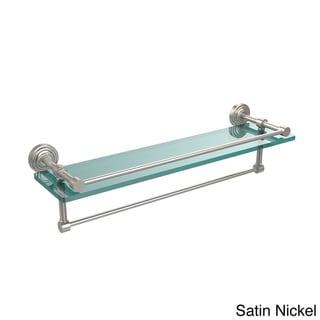 22-inch Gallery Glass Shelf with Towel Bar