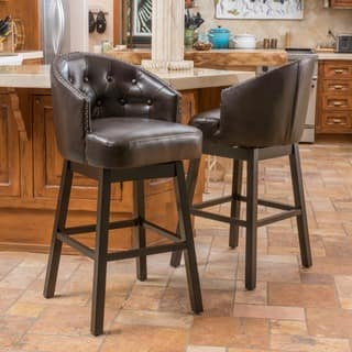 d98fcdea8bd Buy Leather Counter   Bar Stools Online at Overstock
