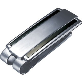 Visol Tristan Stainless Steel Money Clip