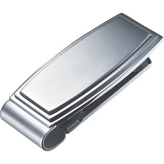 Visol Capri Stainless Steel Money Clip
