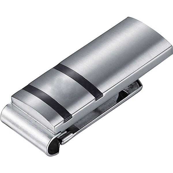 Visol Rafael Carbon Fiber Stainless Steel Money Clip