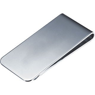Visol Aristocrat Polished Silver Plated Money Clip