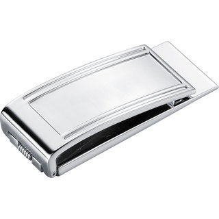 Visol Vienna Stainless Steel Money Clip