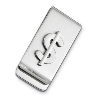 Visol Parker Silver Plated Money Clip