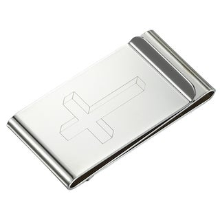 Visol Cross Double Sided Money Clip