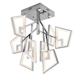 Kichler Lighting Contemporary LED Chrome and Brushed Aluminum Flush Mount