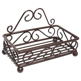 High Quality Bronze Sponge/Soap Holder with a Classic Swirl Design