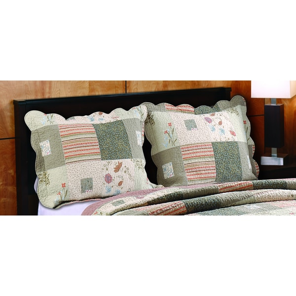 Greenland Home Fashions Sedona King Sized Pillow Shams (Set of Two)