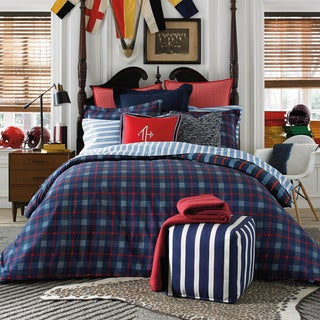 Tommy Hilfiger Boston Plaid Twin/ Twin XL Comforter Set