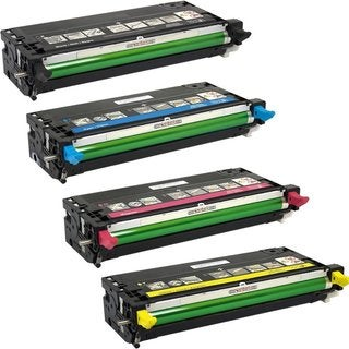Compatible Dell 3115 Black Cyan Magenta Yellow Toner Cartridge ( Pack Of 4 )