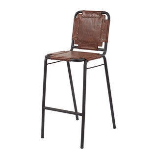 LS Dimond Home Industrial Bar Stool