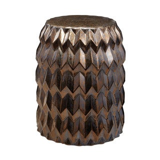 LS Dimond Home Chevron Bullet Stool