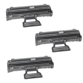 Remanufactured Samsung MLT-D108S/ ML-1640/ ML-22403 Toner Cartridges (Pack of 3)