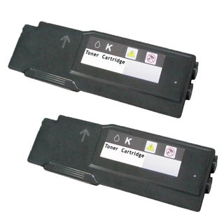 Compatible Dell 3760 Black Toner Cartridge C3760dn C3760n C3765dnf ( Pack Of 2 )